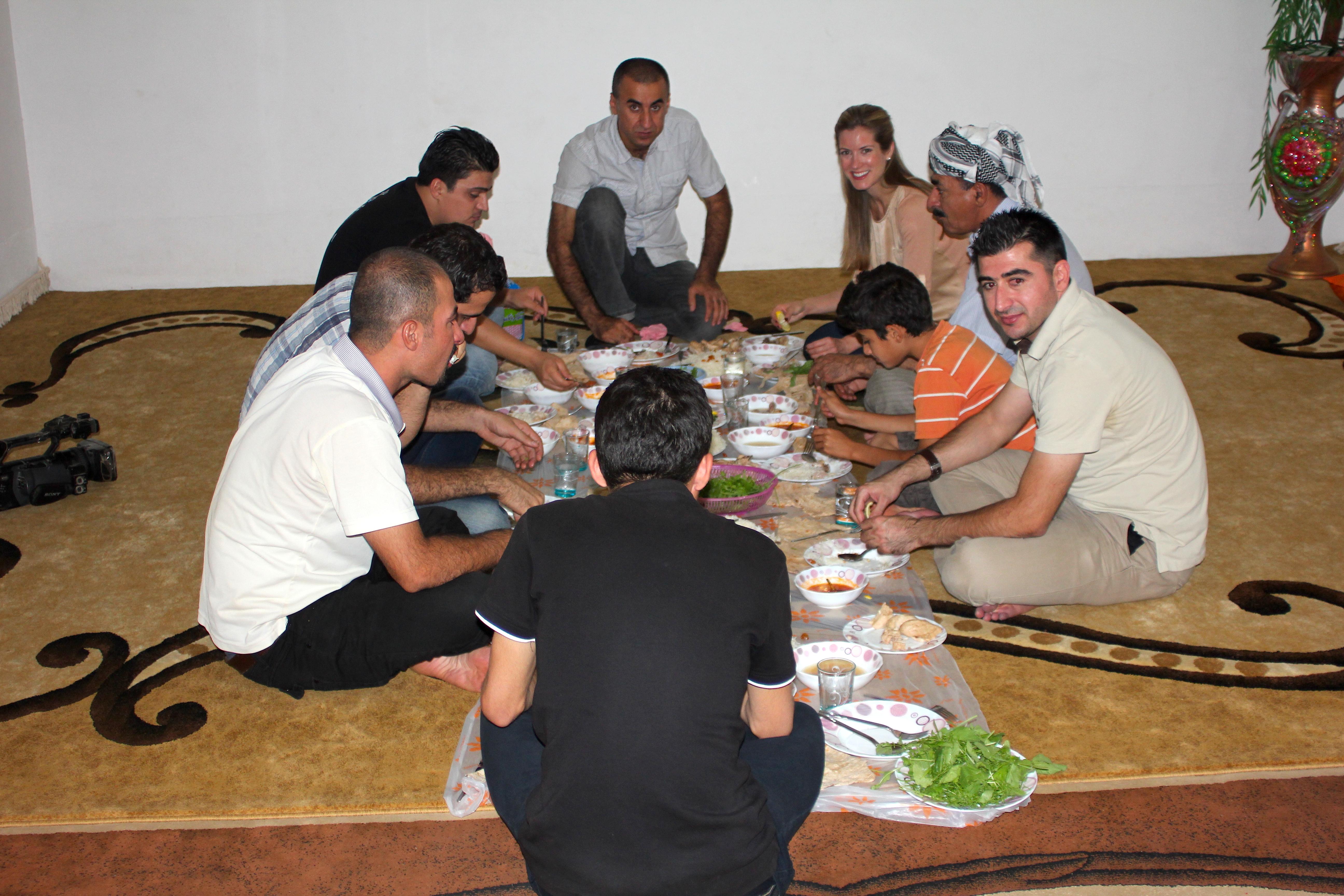 Kurdish Dinner